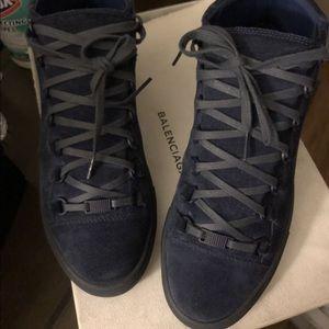 c90f1c528b8ec Balenciaga Shoes - Balenciaga Arena Suede Blue men s size 8